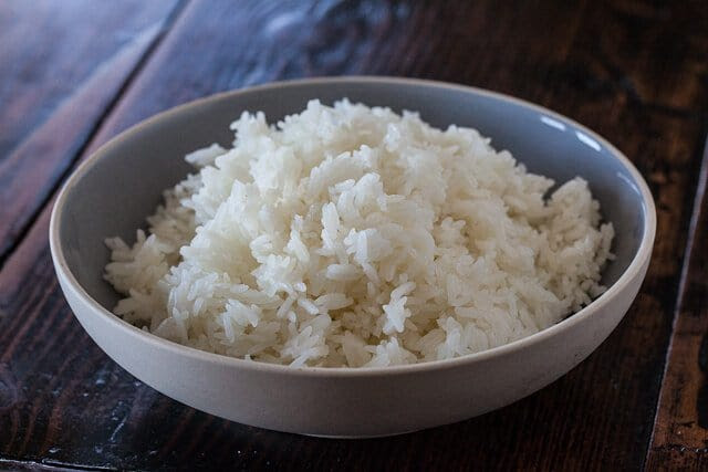 How to cook perfect rice in the microwave  Steamy Kitchen
