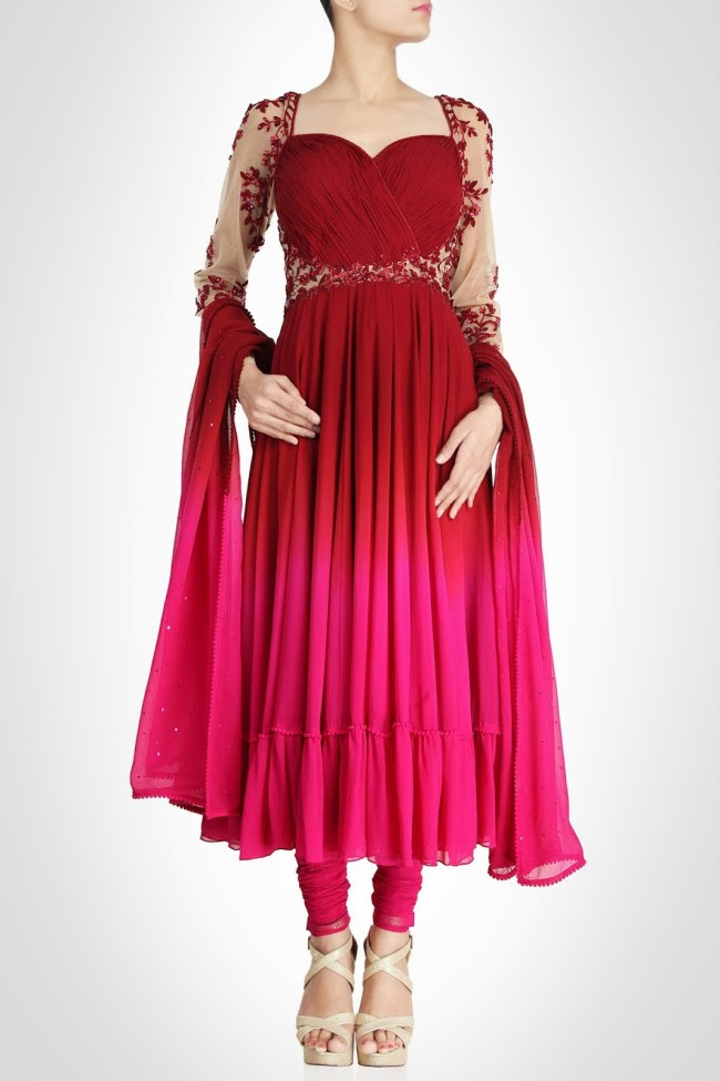 Beautiful-Bridal-Wedding-Lehanga-Choli-Saree-Anarkali-Churidar-New-Fashion-Dress-by-Designer-Surily-Goel-9