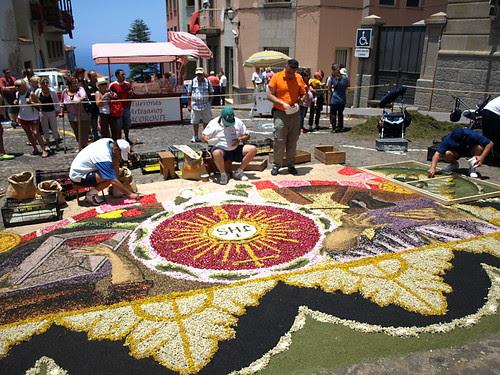 La Orotava Corpus Christi Flower Carpets