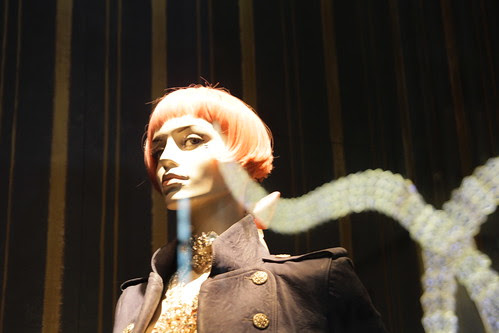 Bulgari building reflected on Mannequin