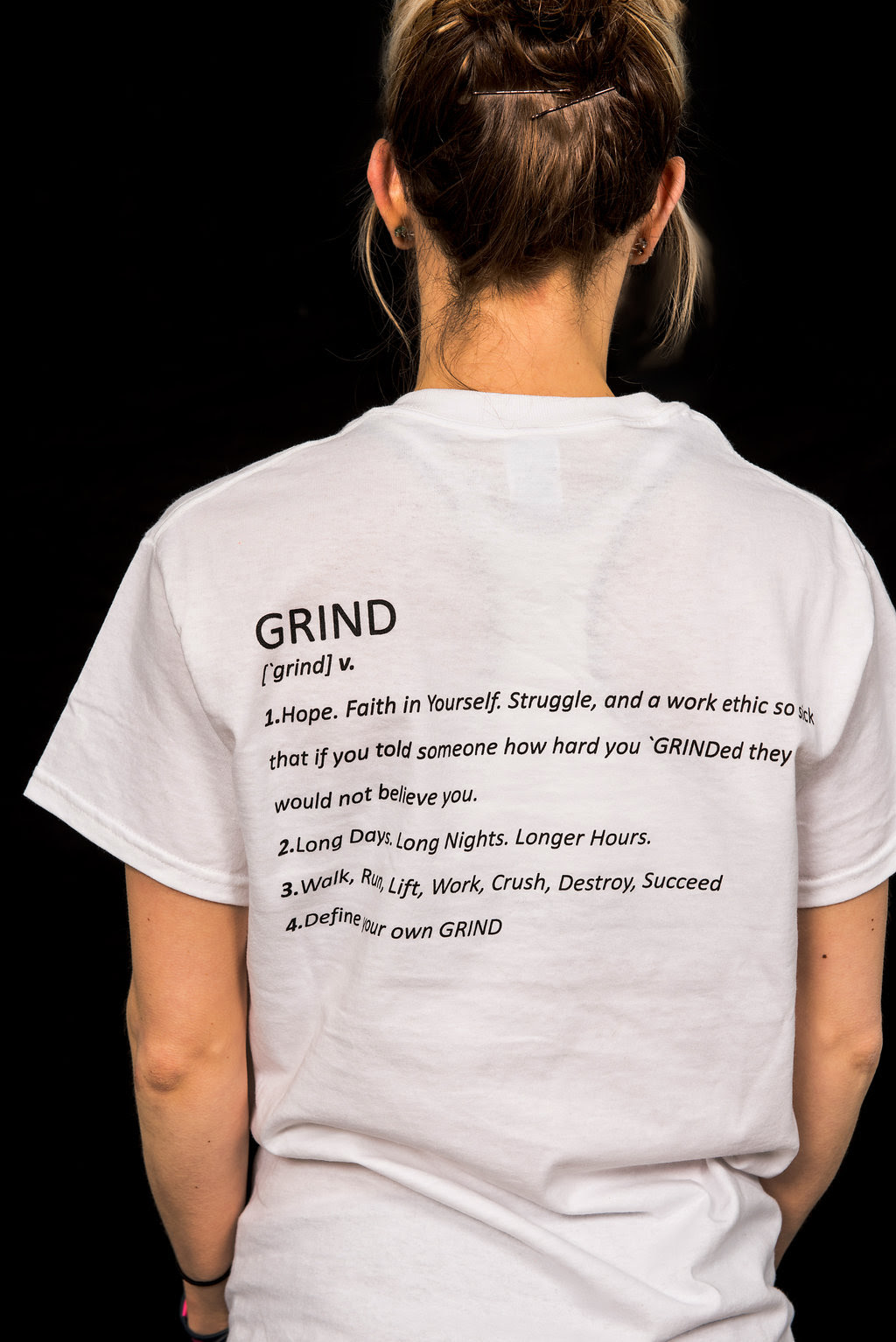 Definition Of Grind T Shirt Jesse Swoyer Trainer And Motivational