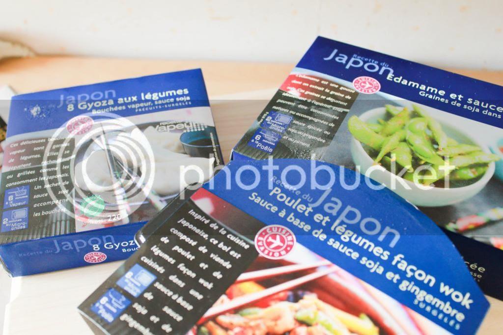 Plats préparés asiatiques picard