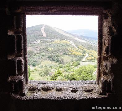 Paisaje desde la torre del homenaje