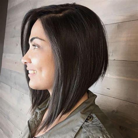 Carre Plongeant Degrade Mi Long French Hairstyle