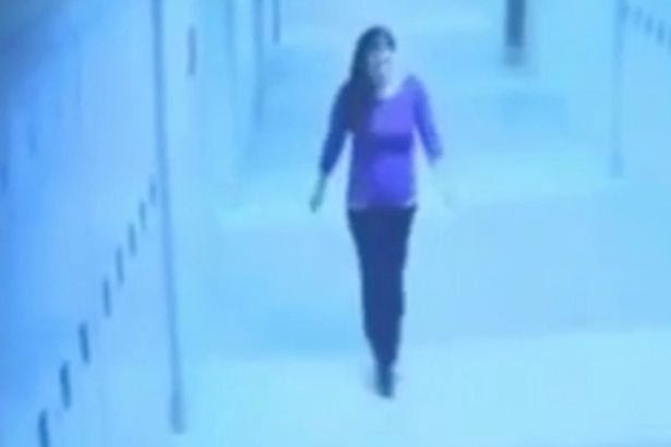 CCTV showing Philip Chism following teacher Colleen Ritzer moments before she was raped and murdered at Danvers High School