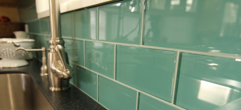 Glass Subway Tile Backsplash | World of Colors Interior