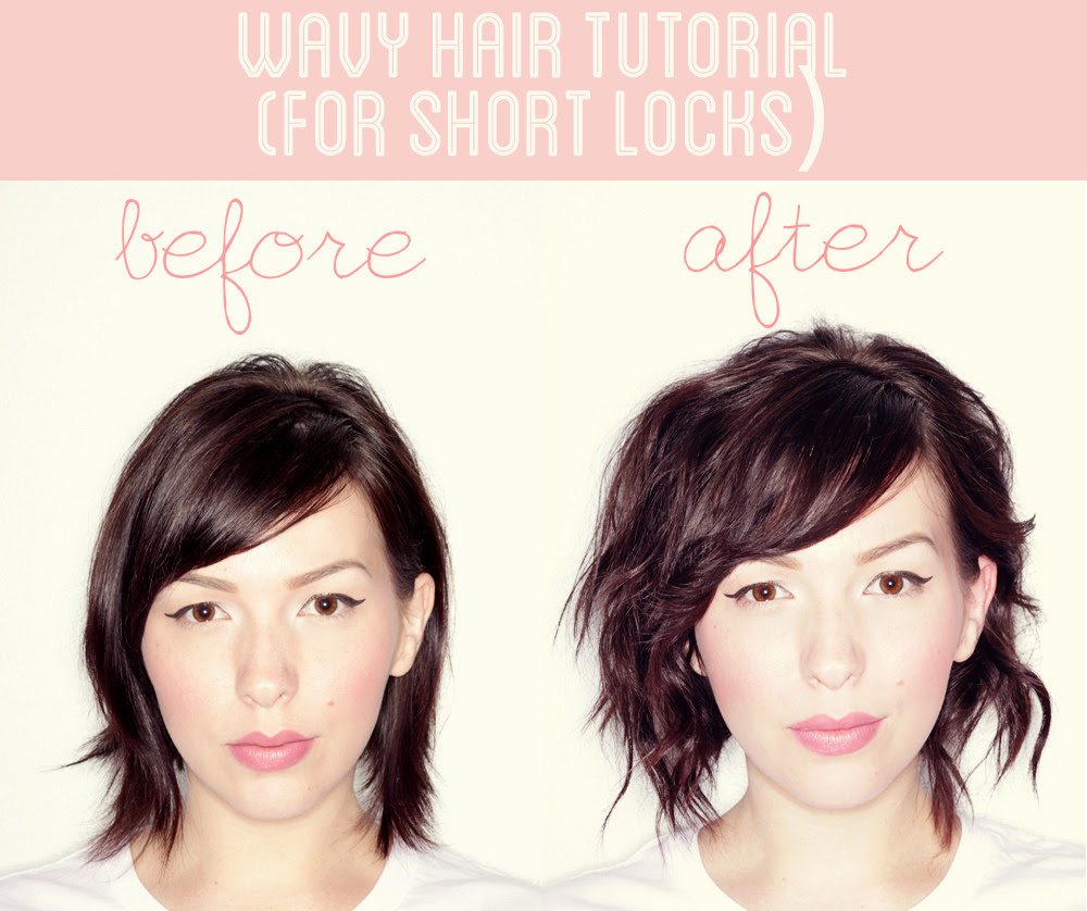 How To Style Short Hair Without Heat