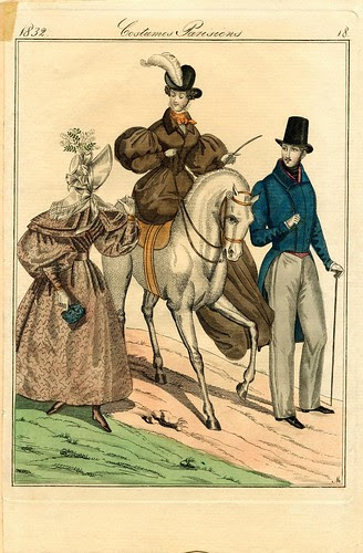 Paris fashions, Spring 1832