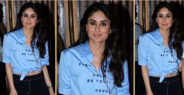 Kareena Kapoor Khan wore a casual shirt worth Rs 38,800, on Amrita's birthday bash dinner