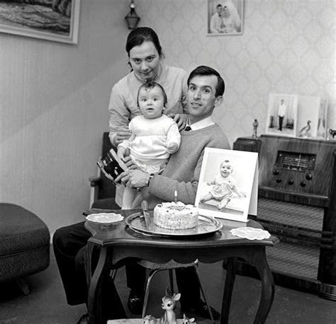 First birthday, 1960s ? Birthdays and wedding