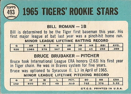 Tigers' Rookies (back) by you.