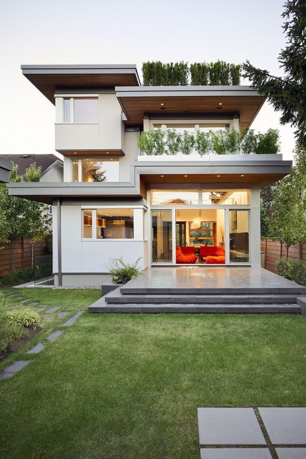 Sustainable modern home design in Vancouver - Modern Contemporary House Design Ideas YouTube