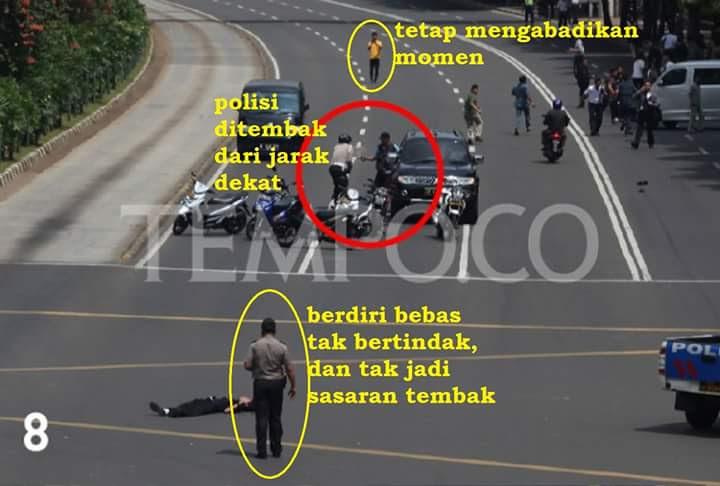 Foto Janggal di Tragedi Bom Sarinah 8