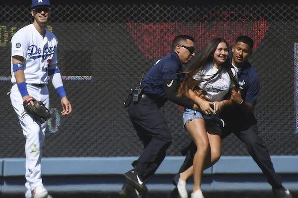 8757efe87 Dave Roberts: Dodgers May Increase Security Around Cody Bellinger To  Prevent Fans From Running On The Field For Hugs
