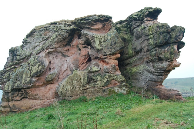 Buddo Rock, west face - geograph.org.uk - 165432