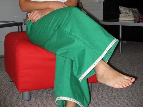 Wide-leg lounge pants from In Stitches