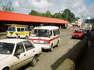 Barbados Route Taxi (ZR) for Route 11 (Bridget...