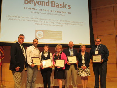 Maine Suicide Prevention Program's CAL ME Award Presentation