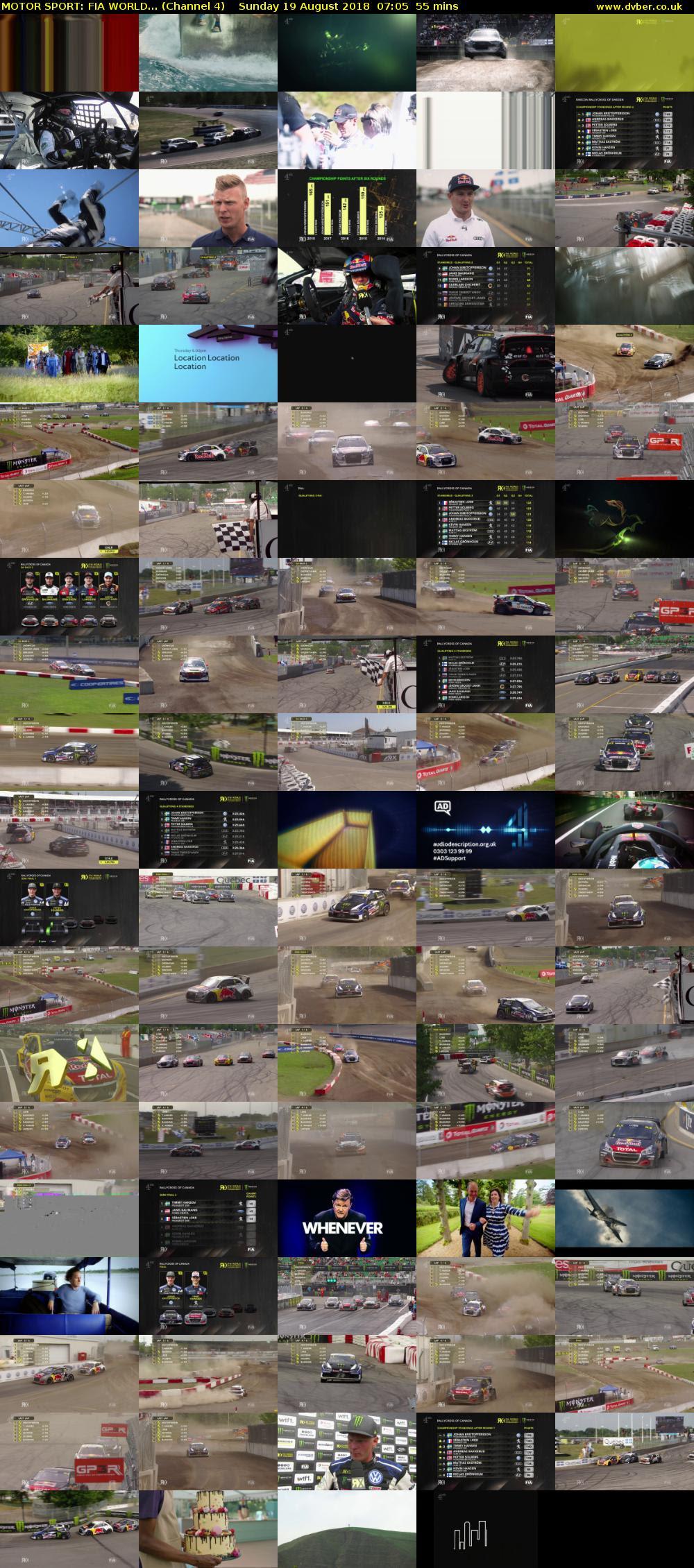 MOTOR SPORT: FIA WORLD... (Channel 4 HD) - 2018-08-19-0705