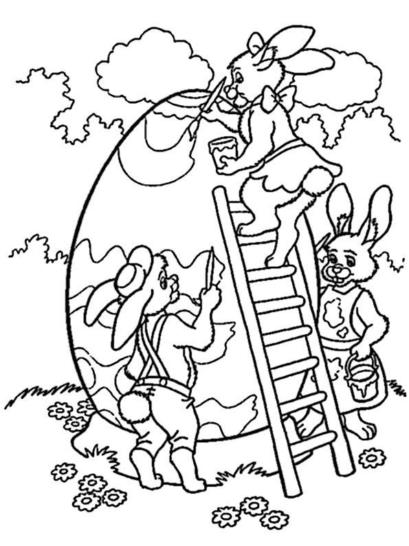 ausmalbilder ostern christlich  kinder zeichnen und ausmalen