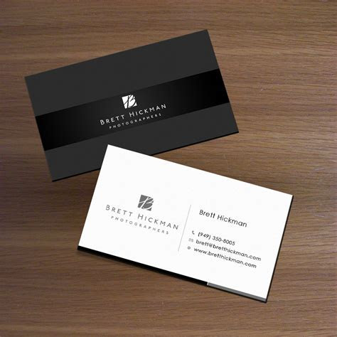 Upmarket, Elegant, Wedding Business Card Design for Brett