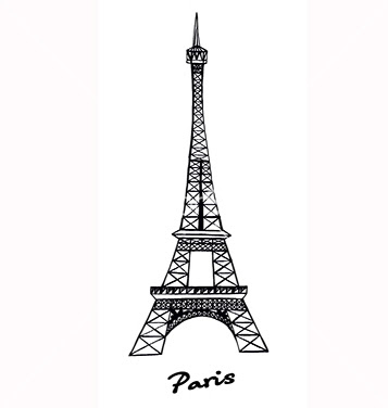 Torre Eiffel Vector At Getdrawingscom Free For Personal Use Torre