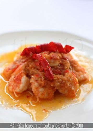 (Homemade) Udang Balado / Shrimp Balado