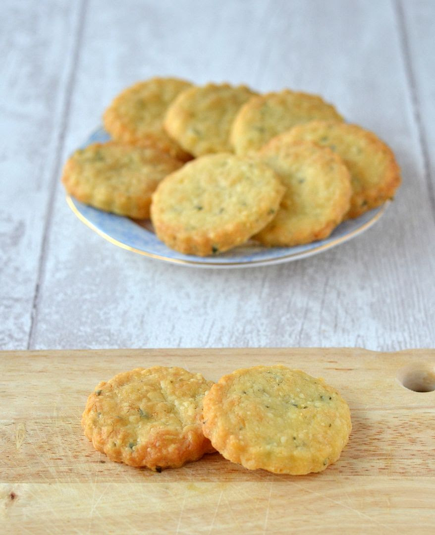 Florentines and Cheddar & Herb Biscuits
