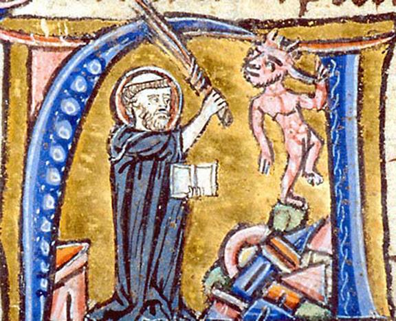 santo Agostinho refutando os heréticos