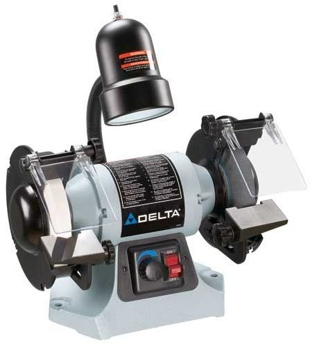 Delta Gr275 6 Inch Variable Speed Grinder With Tool Less