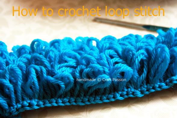 Free Crochet Patterns Crochet Tutorial Loop Stitch