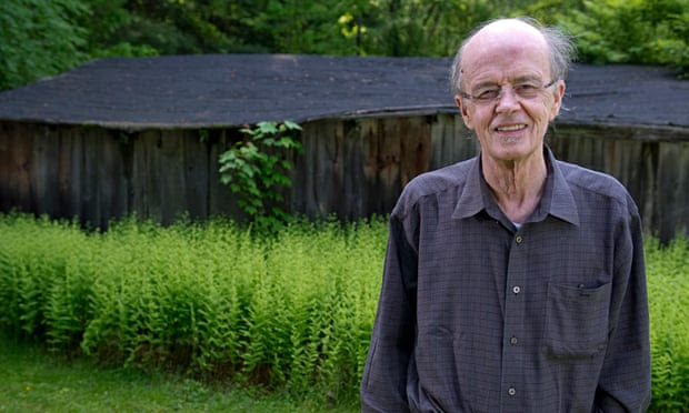 James Tate at his home in Pelham, Massachusetts, in 2011.