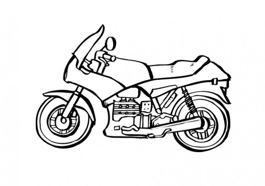 Motosiklet Boyama Resimleri Ve Fotoğrafları