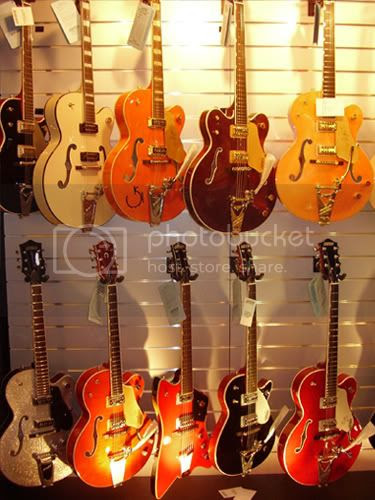 A gathering of Gretsches