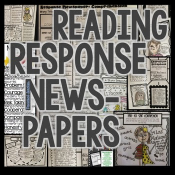 Reading Response Newspapers!