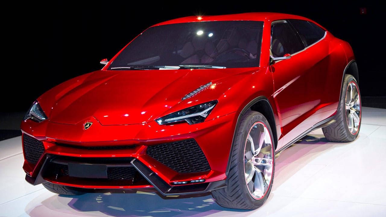 Photos: Lamborghini Urus Concept