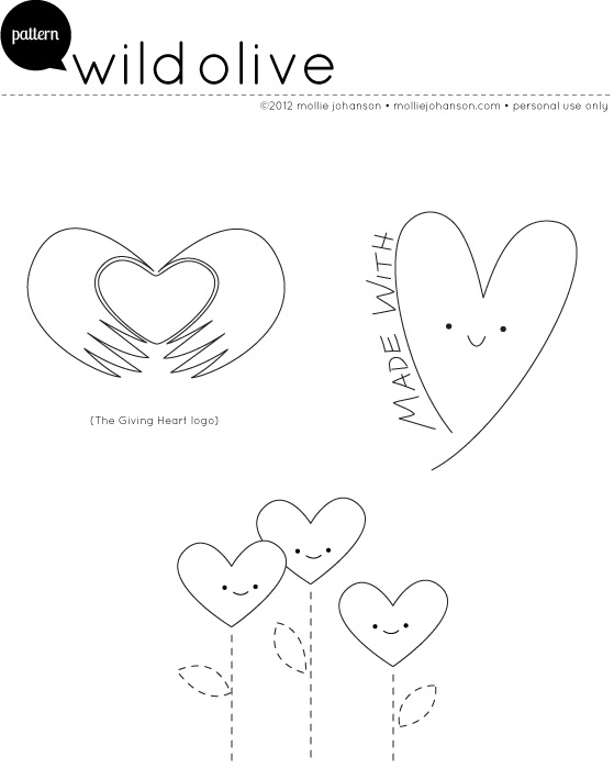 Giving Heart Patterns
