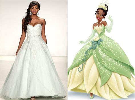 Tiana from Alfred Angelo?s Disney Princess Wedding Gowns
