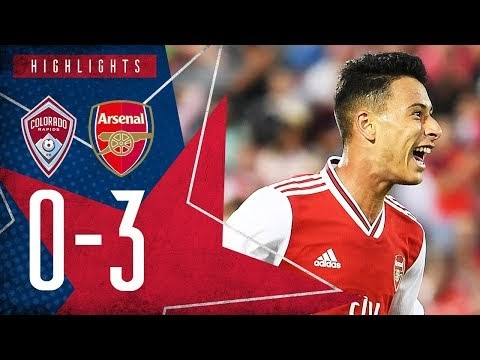 Colorado Rapids 0-3 Arsenal - Highlights