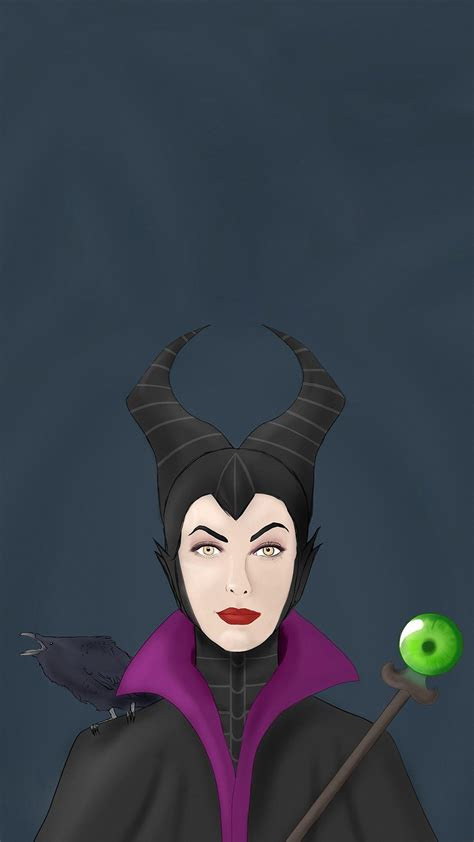cartoon maleficent iphone  wallpapers hd