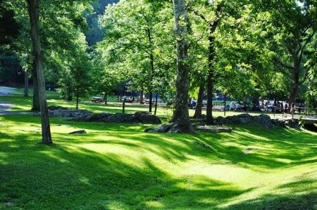 Chút mầu xanh đầu nguồn Potomac. Ảnh: HM