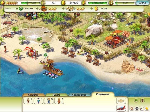 Paradise Beach Free PC Game Screenshot