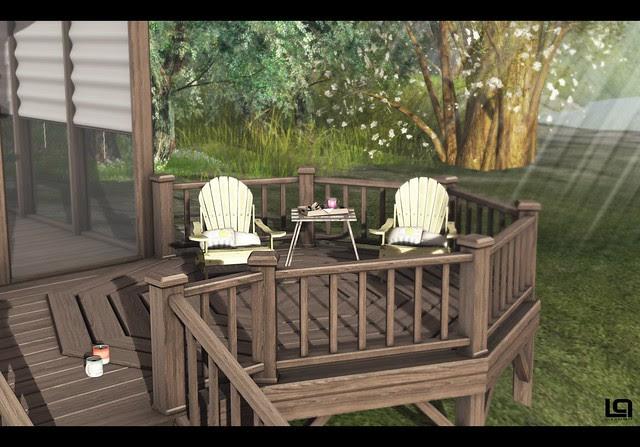 The Home Show - PM - The Lake House - Deck & Cheeky Pea - Margarita Beach Chairs
