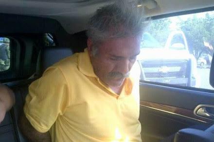 José Manuel Mireles después de su detención. Foto: Especial