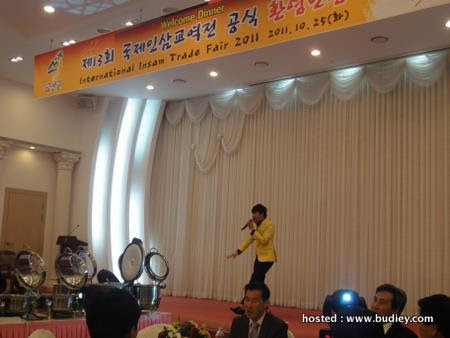 Dior's 2nd performance for Ginseng Trade Convention Dinner,Geumsan,Korea...