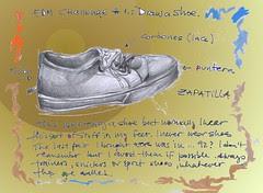 EDM # 1= draw a shoe