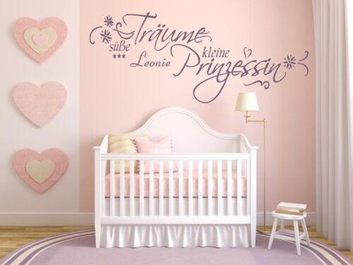 Wandtattoos Wandbilder Mit Name Wandtattoo Kinderzimmer Baby Susse Traume Kleine Prinzessin 72023 Mobel Wohnen Anakui Com