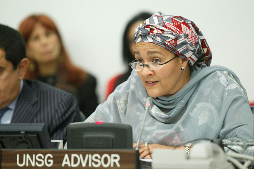 Ex-Minister, Amina Mohammed In $300 Million Timber Scandal (Video)