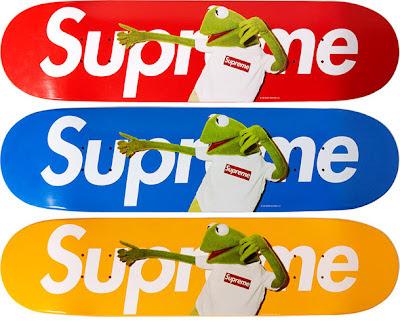 Kermit Supreme Skate Deck
