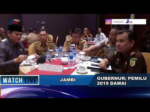 Gubernur: Pemilu 2019 di Jambi Aman
